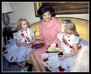Jackie Kennedy at Valentine's Day