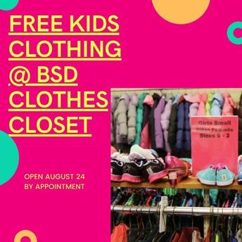 BSD Clothes Closet