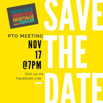 💻📝 PTO Meeting via Facebook Live