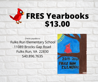 picture of FRES Yearbook Order flyer
