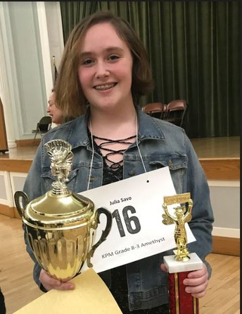 Congrats to our Excellent KP Spellers &  Our Town Wide Spelling Bee Champion!!