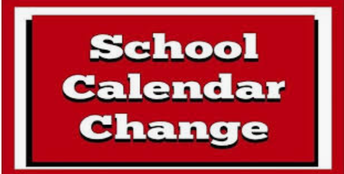 CALENDAR CHANGE - March 9th is a FULL DAY of school for students