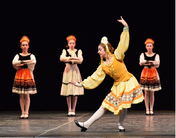 Saints Students to Perform in Lake Charles Civic Ballet Production