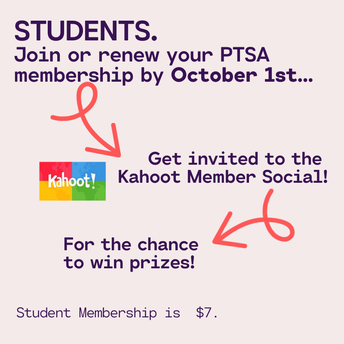 STUDENT MEMBERSHIP INCENTIVE - 1 WEEK LEFT TO QUALIFY FOR 1ST STUDENT MEMBERSHIP SOCIAL