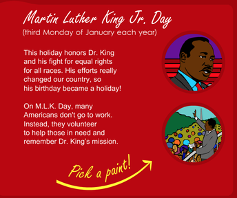 Martin Luther King Jr. Coloring for Littles