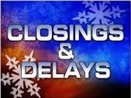 Weather Closings or Delays