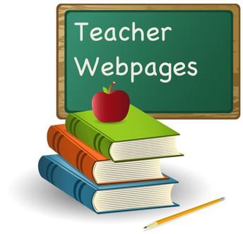 Teacher Webpages
