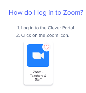 Zoom: GCPS Clever
