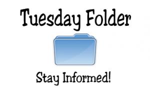 Take Home Tuesday Folders
