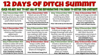 12 Days of Ditch Summit Challenges