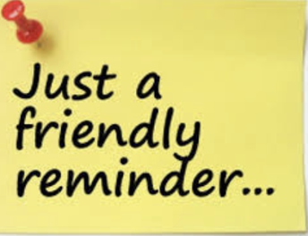 IJA Reminders