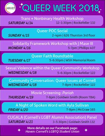 Queer Week 2018!