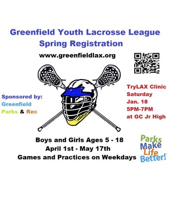 Lacrosse Spring Registration