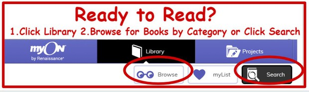 Ready to read? Click Browse or Search.