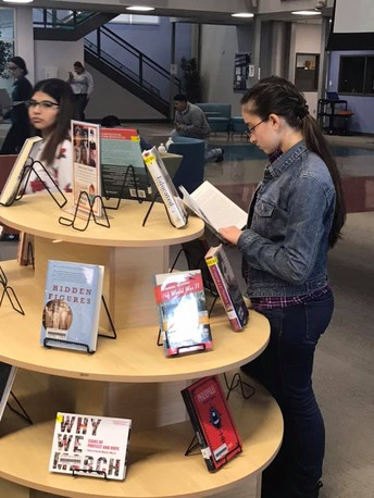 Women's History Month Book Display