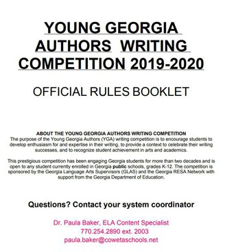 Young Georgia Authors Writing Competition