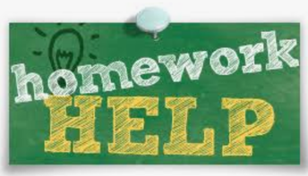 Homework help is available for students.  Links are available in Seesaw or Canvas