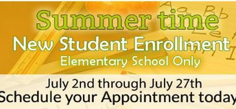 Elementary Summer Time Enrollment