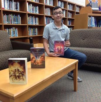 Series Reader C. Garza: Kane Chronicles by Rick Riordan