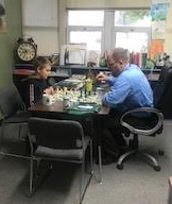 Chess with the Principal