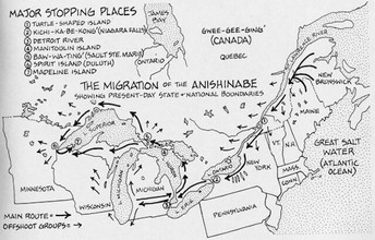 The Ojibwe Migration