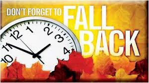 Time Changes This Weekend: Daylight Saving Time Ends Sunday; 'Fall Back' Saturday Night!