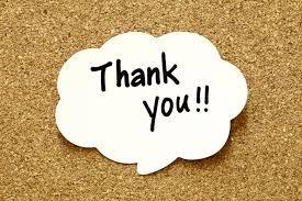 Thank You EGMS Families