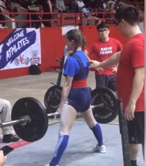 Congratulations to Powerlifter Molly Inman!