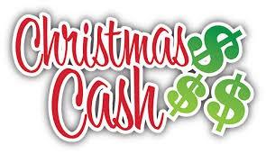 50/50 for Christmas cash!