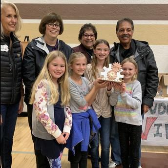 3rd grade STEAM EXPO Winning team