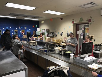 Ready Cafeteria Staff in Action!