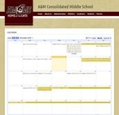 AMCMS Calendar