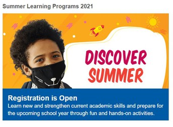 Summer School Registration is Open!
