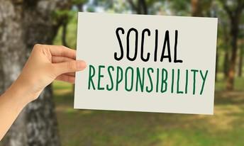 Be socially responsible
