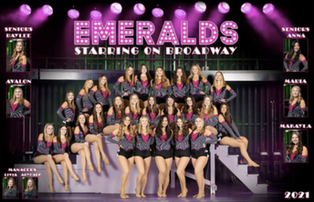 Faribault Emeralds Dance Team Places 3rd at State