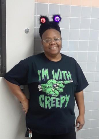 Ms. Semyra Acklin - CNP Supervisor of the Month, Challenger Elem./Middle