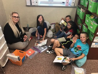 Reading with Mrs. O