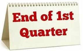 Quarter 1 Ends October 30th