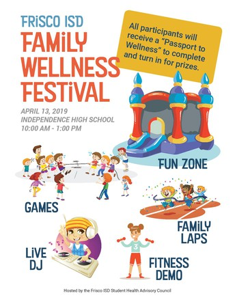 Frisco ISD Family Wellness Festival