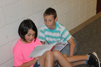 We love our reading buddies...