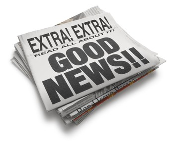 The Hatter Chatter would like to remind its readers that there is much, much more good news than bad!