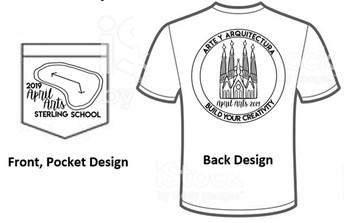 April Arts T-Shirts