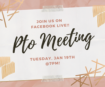 🗒📎PTO Meeting | On Facebook LIVE!