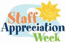 Staff Appreciation Week is here!