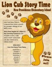 Lion Cub Story Time