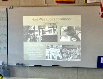 How was Ruby's Childhood different?