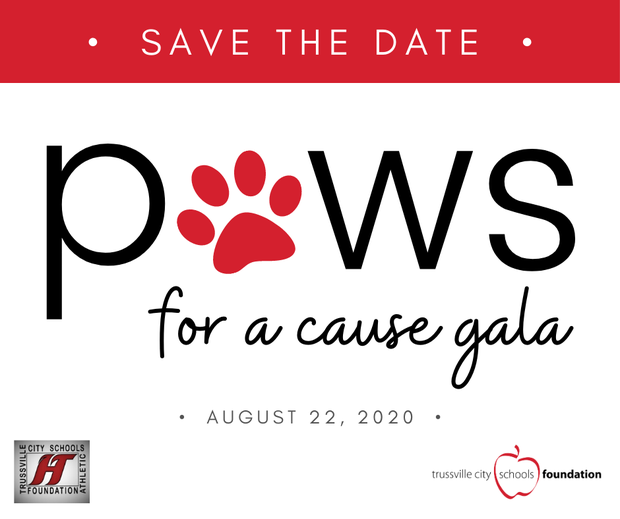 Save the Date...Paws for a Cause Gala