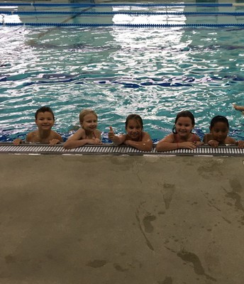 Third grade YMCA swimming was a big hit!