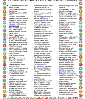 77 STEM Activities for Families