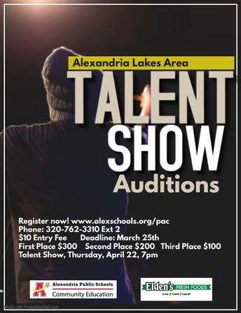 Lakes Area Talent Show